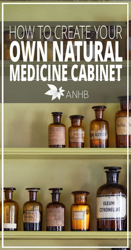 make your own medicine cabinet save this how to create your own natural medicine cabinet