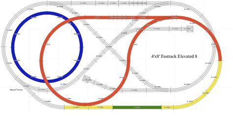 lionel o gauge layout design software lionel fastrack layouts track plans download foto