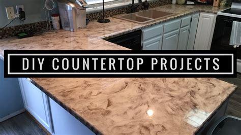 Diy Kitchen Countertop Resurfacing by Metallic Diy Customer Install 1 Countertop