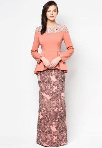 Baju Peplum Pendek 17 fesyen baju kurung terkini design cantik untuk wanita moden
