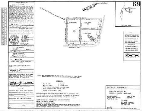 Carroll County Md Court Records Maryland State Archives Carroll County Circuit Court Land Survey Subdivision And