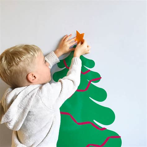 decorate your own tree decorate your own tree vinyl wall sticker by