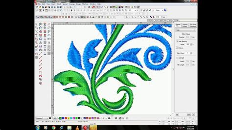 embroidery design management software embroidery design wilcom software youtube