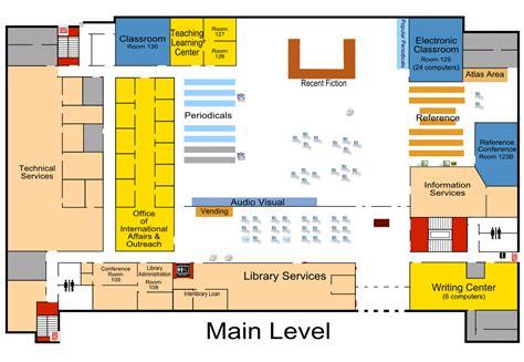 map floor plan briggs library floor plans south dakota state university