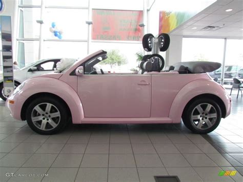 volkswagen new beetle pink 2006 custom pink volkswagen new beetle 2 5 convertible