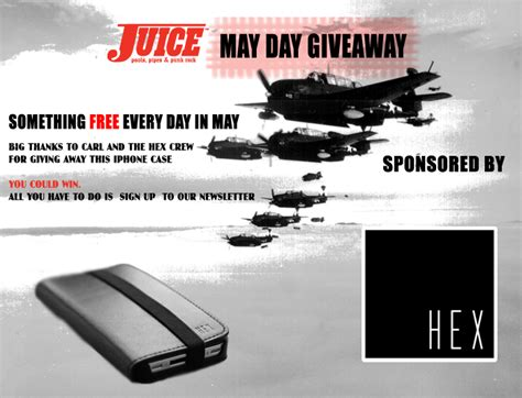 Iphone 4 Giveaway - iphone 4 case giveaway from hex juice magazine