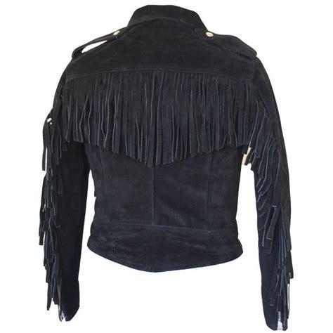 Motorcycle Apparel Online by Motorcycle Apparel Rdo Suede Fringed Jacket Black