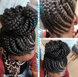 pin up hair styles for black braided hair ghana braids ghana braids with updo straight up braids