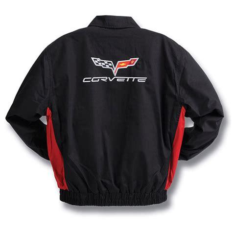 c6 corvette 2005 2013 black twill jacket corvette mods