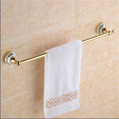 bathroom fixtures towel bars free shipping blue white porcelain 60cm single towel bar