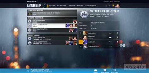 anyone else t login to battlelog battlefield 4 battlefield 4 s battlelog explained in new vg247