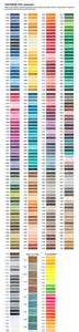 madeira thread color chart thread colors madeira poly neon special order colors