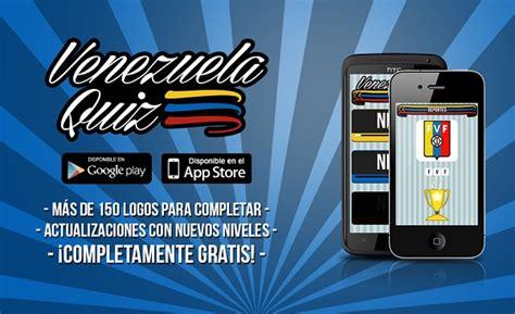 imagenes venezuela quiz venezuela quiz la nueva fiebre en juegos m 243 viles de