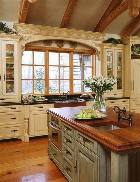 20 Ways To Create A French Country Kitchen Country Kitchen Design