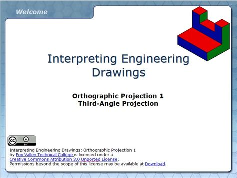 orthographic projection  wisc  oer