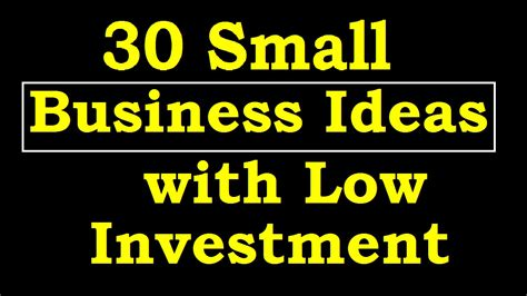 Small Business Ideas From Home List 30 Small Business Ideas With Low Investment