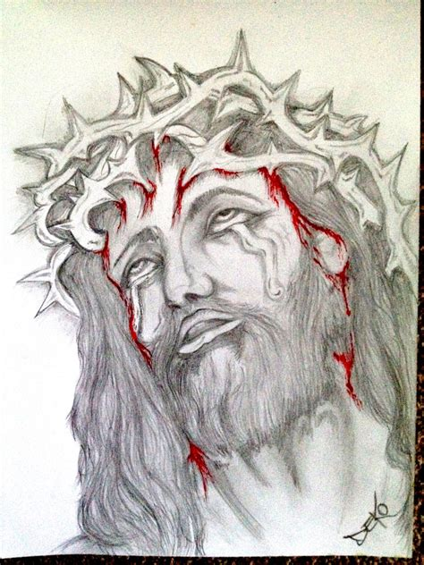 jesus tattoo drawing by dekoart13 on deviantart
