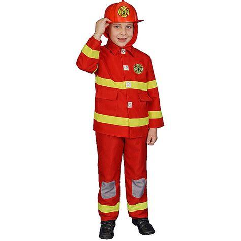 firefighter child costume play set walmart