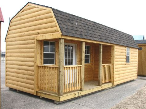 Shed Prices Rustic 12x34 Portable Office Building Storage Shed New Ebay