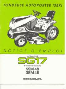 iseki sg 17 sg17 ssm48 srm48 support sav d 233 pannage