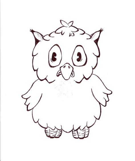 Owl Image Outline by Image Gallery Owl Outline Drawing