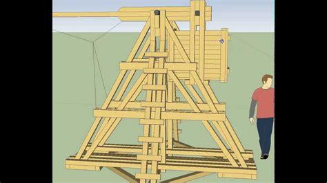 backyard trebuchet backyard trebuchet design youtube