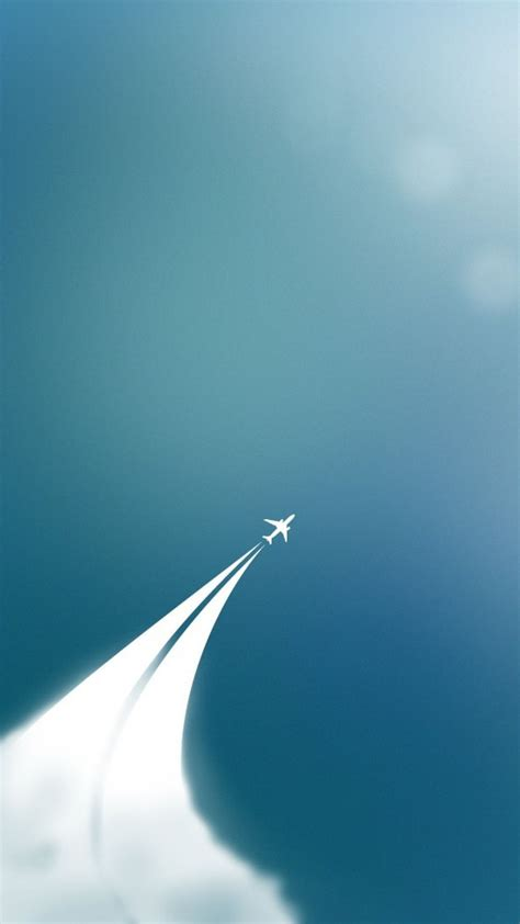wallpaper iphone airplane minimalist plane tap to see more simple apple iphone 6s