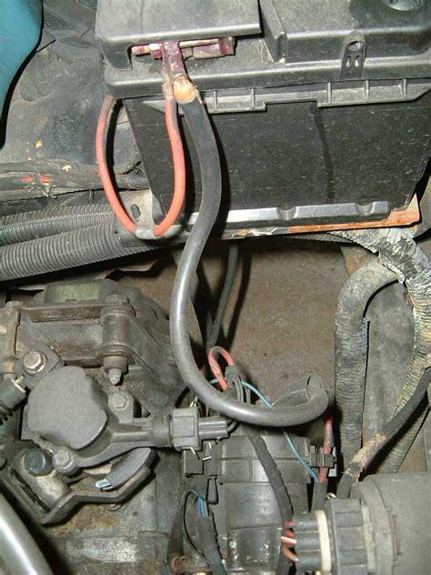 Motorradbatterie Pluspol by Autoelektrik Reparaturanleitungen Pruef Mess Und