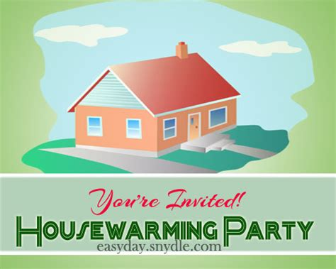 house warming house warming invitation easyday