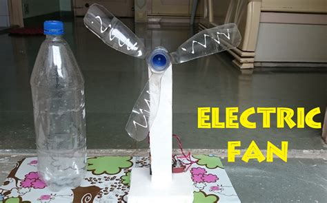 How To Make An Electric Fan Using Bottle Easy Way