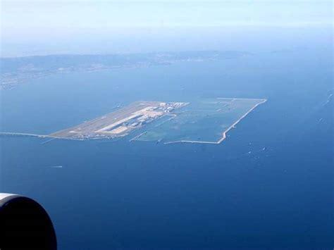 Japan Sinking Airport kansai international airport sinking airport wonderfulinfo