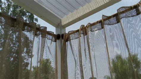 outdoor curtains and rods how to get backyard privacy without a fence hometalk