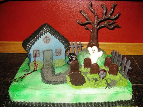 house cake designs haunted house cakes decoration ideas little birthday cakes