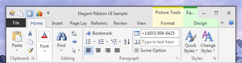 Office 2013 Themes by Net Ribbon Themes Visual Styles