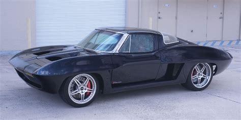 mid engined  corvette hitting  auction block