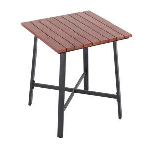 Home Depot Bistro Table by Hton Bay Plaza Mayor Square Wood Outdoor Bistro Table