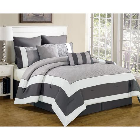 duck river comforter set duck river spain sandstone smoke 8 piece king comforter