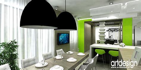Lime Green Kitchen Ideas projekt wn trza apartamentu domu bielsko bia a architekci