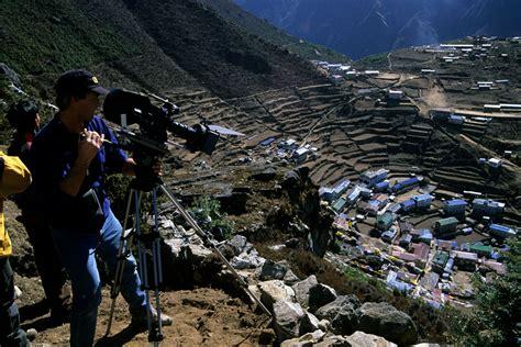 film everest schweiz climbing skiing film photos jim surette granite films