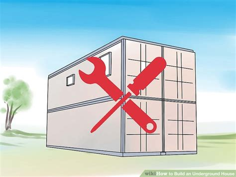 how to build underground house 5 ways to build an underground house wikihow