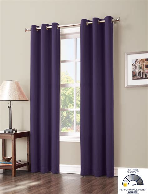 sun curtains com sun zero easton blackout curtain panel 40 x