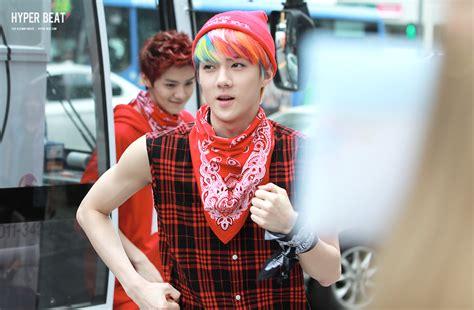 exo weekly idol 130611 exo going to weekly idol recording arirang