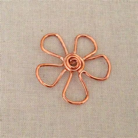 lisa yang s jewelry blog using copper embossing foil and lisa yang s jewelry blog copper wire flower pendants