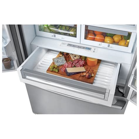 electrolux cabinet depth refrigerator ew23bc87ss electrolux wave touch 174 22 door counter