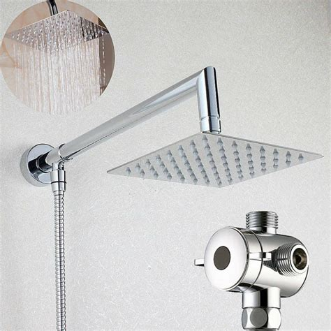 Shower Arm Diverter by Aliexpress Buy 6 Quot Square Rainfall Shower With