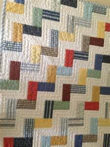 baby quilt made from re cycled mens dress shirts