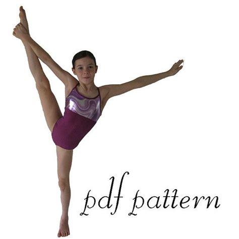 dance tutorial pdf olivia pdf sewing pattern gymnastics ballet dance leotard