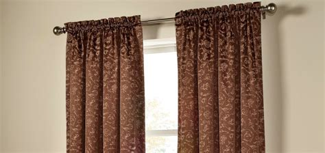 draping curtains over a rod rod pocket drapes rico curtains and blinds