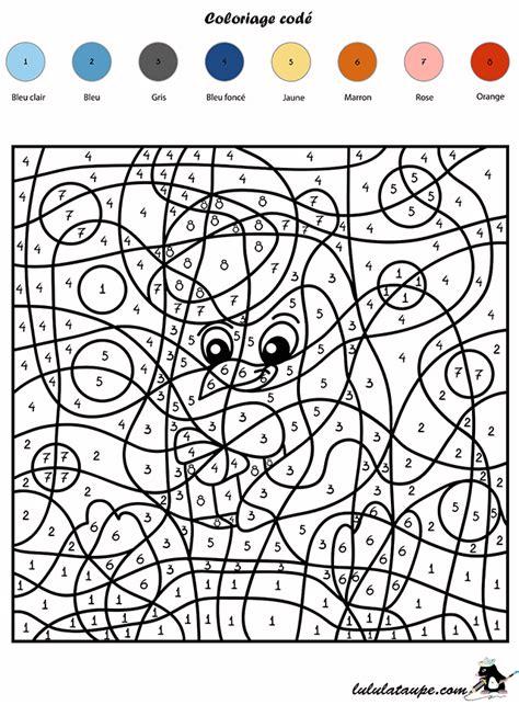 Coloriage Cod 233 Les Chiffres Un Pingouin Lulu La Taupe Coloriage Magique Maternelle A ImprimerL