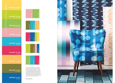 2017 pantone view home interiors palettes pantone view home interiors 2018 claire gaudion